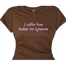 """I Suffer From Multiple Pet Syndrome 